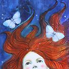 Moonlight And Butterflies by Maria Pace-Wynters