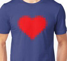 Pixelated Love Heart Unisex T-Shirt