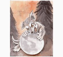 Werewolf Puppy Watercolor Painting Classic T-Shirt