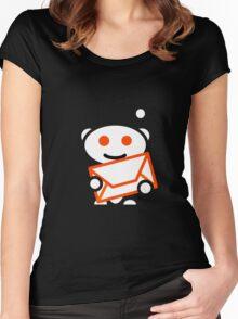 Reddit Oranged Women's Fitted Scoop T-Shirt