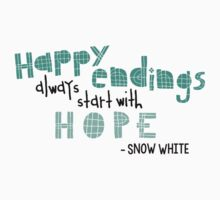Happy Endings - Snow White by Qistina Iskandar