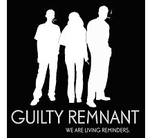The Leftovers - Guilty Remnant Photographic Print