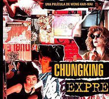 Chungking Express iPhone cover by coralzoa