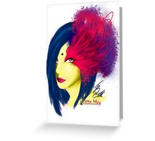 Fabulous Lashes Greeting Card