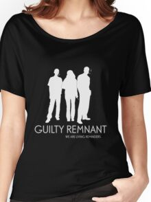 The Leftovers - Guilty Remnant Women's Relaxed Fit T-Shirt