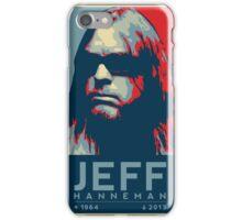 Jeff Hanneman R.I.P. Poster iPhone Case/Skin
