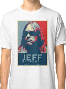 Jeff Hanneman R.I.P. Poster Classic T-Shirt