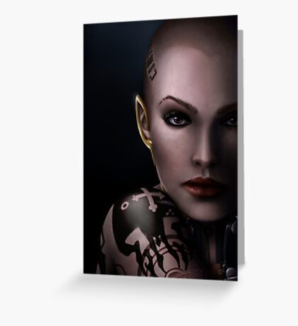 Mass Effect - Jack Greeting Card