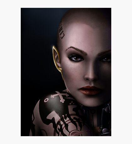 Mass Effect - Jack Photographic Print