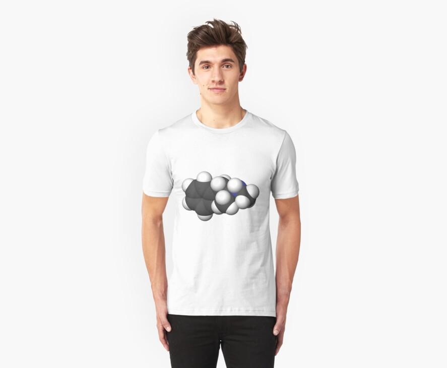 breaking bad Methamphetamine molecule C by rbslave1