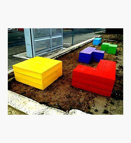 Tetris 2013  Photographic Print