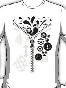 Zipper_Heart T-Shirt