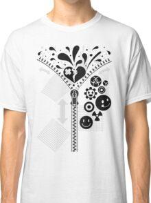 Zipper_Heart Classic T-Shirt
