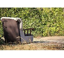 lounge chair                         Photographic Print