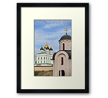 Cathedral and Chapel Framed Print