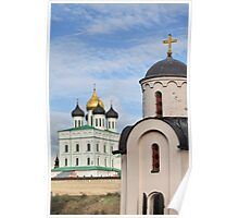 Cathedral and Chapel Poster