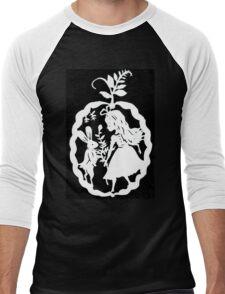 Alice and the White Rabbit Men's Baseball ¾ T-Shirt