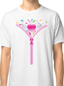 Zipper_Heart Classic T-Shirt