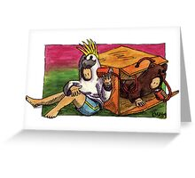 KMAY Hoodkids Chatter Box Greeting Card