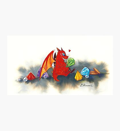 The dragon's collection Photographic Print