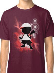 Super Smash Bros. White Ness Silhouette Classic T-Shirt