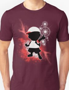 Super Smash Bros. White Ness Silhouette Unisex T-Shirt