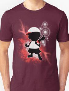 Super Smash Bros. White Ness Silhouette T-Shirt