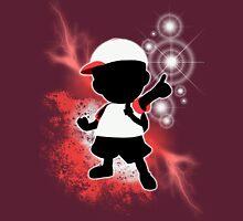 Super Smash Bros. White Ness Silhouette Unisex T-Shirt