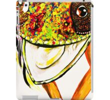 Happy chameleon  iPad Case/Skin