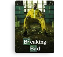 Breaking Bad TV Series Canvas Print