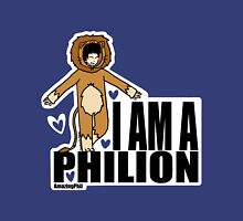 I AM A PHILION Womens Fitted T-Shirt