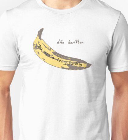 Junkie Banana Unisex T-Shirt