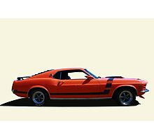 Boss 351 Photographic Print