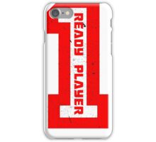 Ready Player One Number Red iPhone Case/Skin