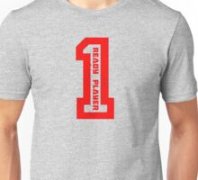 Ready Player One Number Red Unisex T-Shirt