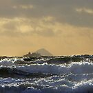 Arran Ferry in a Storm by George Crawford