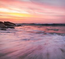 Watercolour Sunrise by yolanda