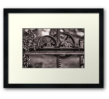 Old Gear Framed Print