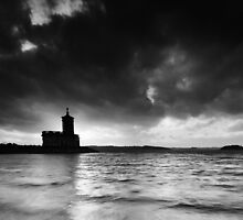 End of a Rutland Day BW by Andy Freer