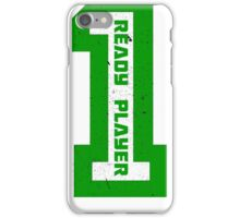 Ready Player One Number Green iPhone Case/Skin