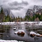 Winter at Valley View by Cat Connor
