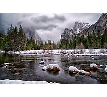 Winter at Valley View Photographic Print