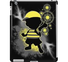 Super Smash Bros. Yellow/Black Ness Sihouette iPad Case/Skin