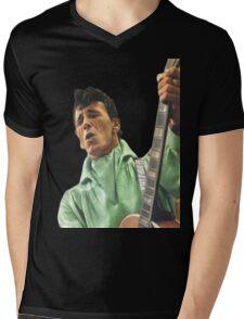 GENE VINCENT Mens V-Neck T-Shirt