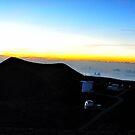 Mauna Kea Sunset by K Futol