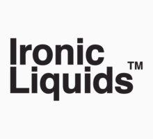 Ironic LIquids Logo Tee by shirtsapalooza