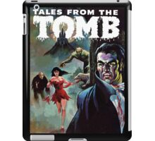 Vampires, Werewolves, Women, and Dinosaurs - Eerie Publications - Textless cover #4 iPad Case/Skin