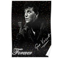 GENE VINCENT the one & only Poster