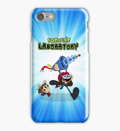 Jane Foster's Lab iPhone Case/Skin