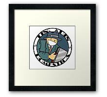Tin Pin Domestica Framed Print